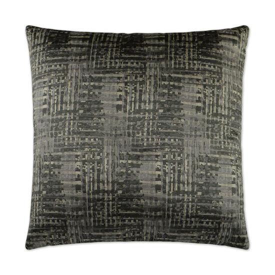 Resonance II Pillow in Charcoal Gray