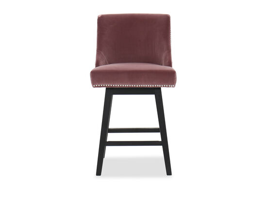 """Contemporary 31"""" Counter Stool in Pink"""