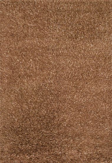 Shags 7'x7' Square Rug in Rust