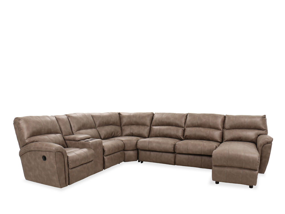 Four Piece Sectional In Mushroom