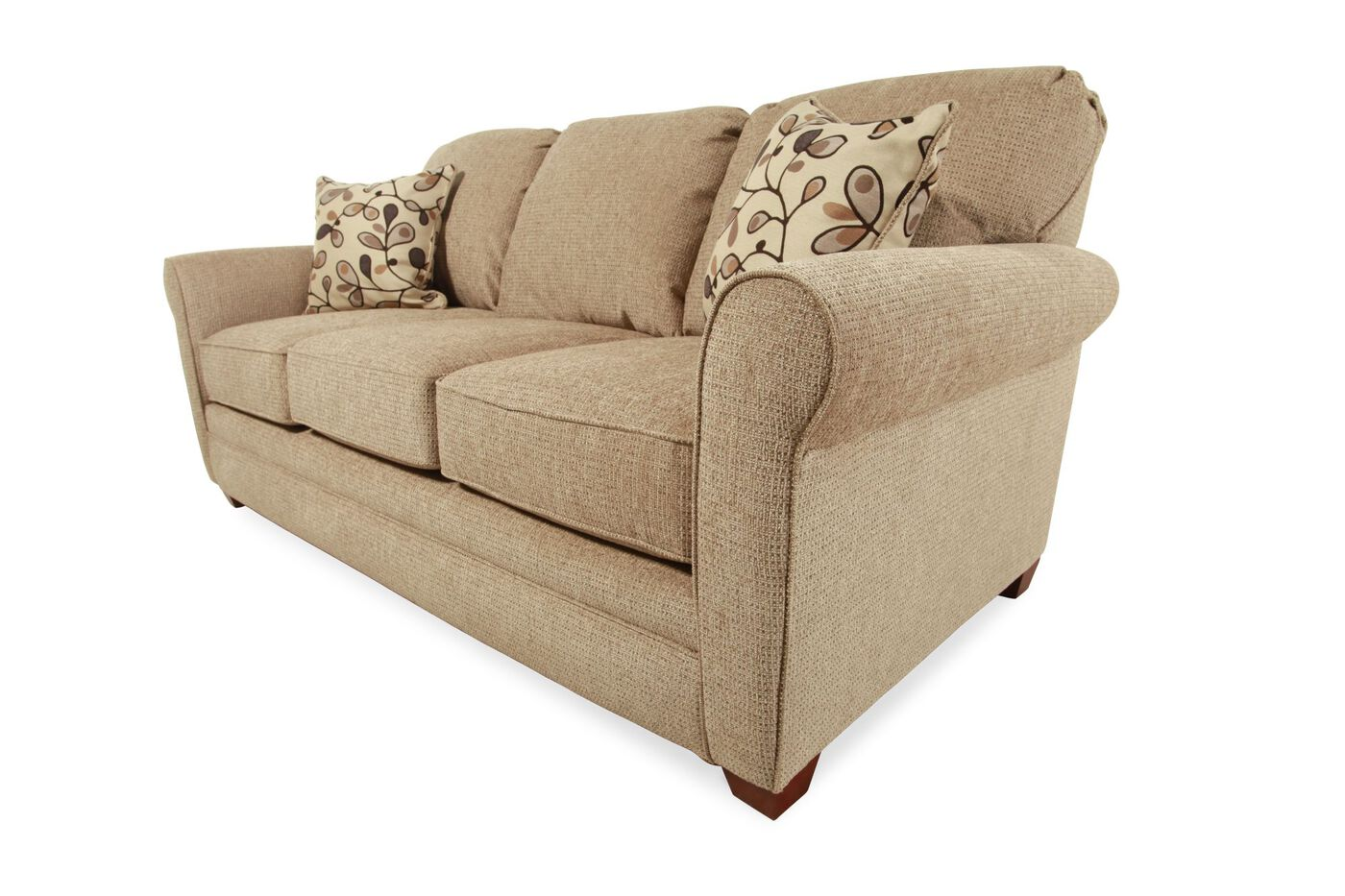 I Rest Traditional 84 Sleeper Sofa In Brown Mathis
