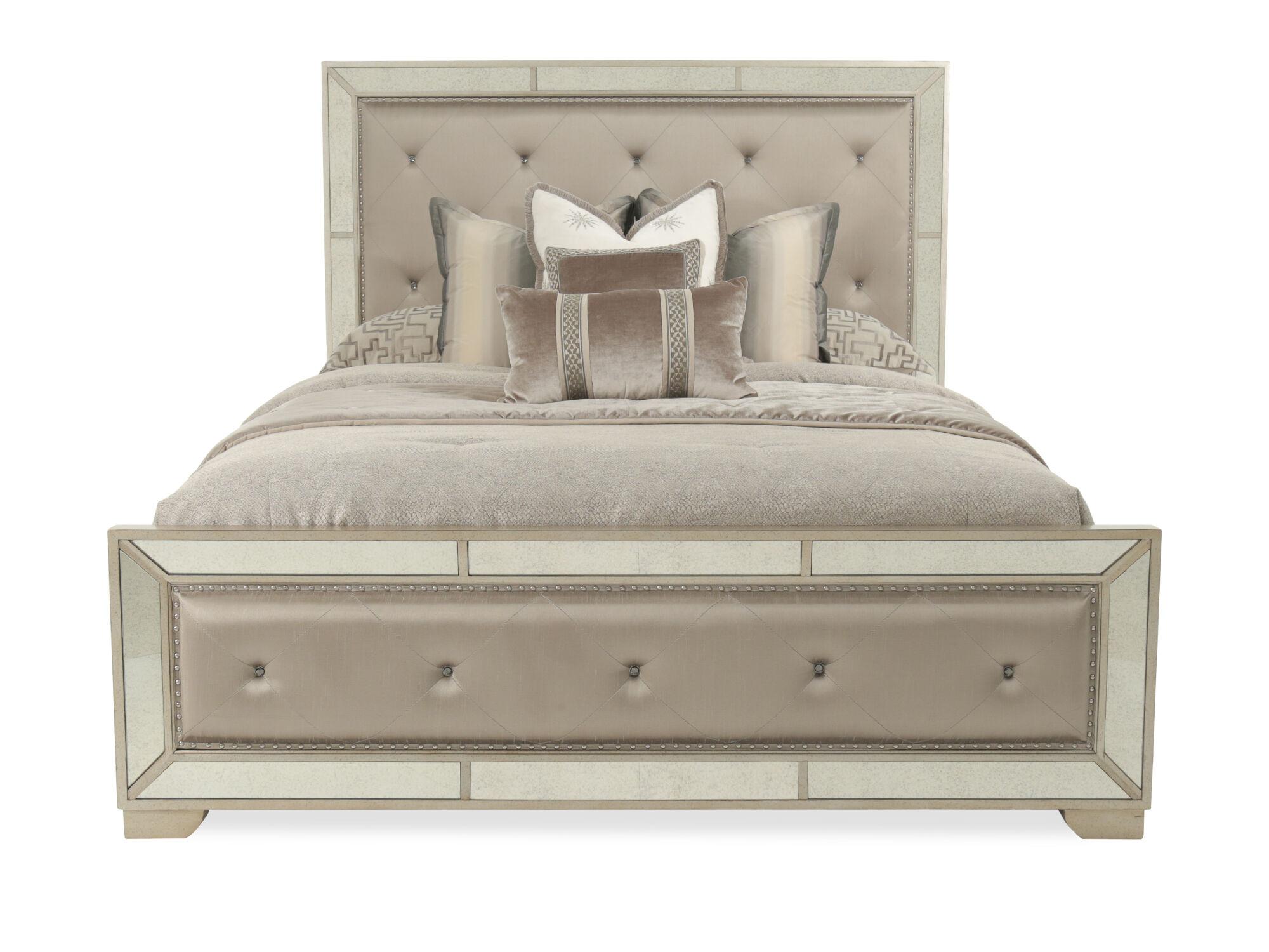 Pulaski Farrah Upholstered California King Panel Bed ...