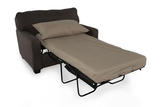 "I-Rest Traditional 54"" Sleeper Chair in Dark Gray"