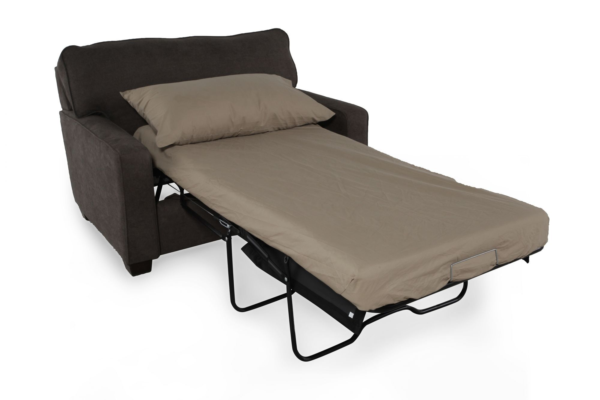... I Rest Traditional 54u0026quot; Sleeper Chair In ...
