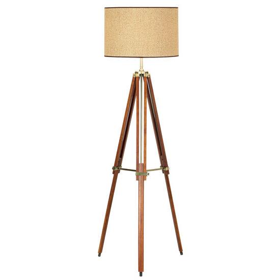Tripod Floor Lamp in Brown