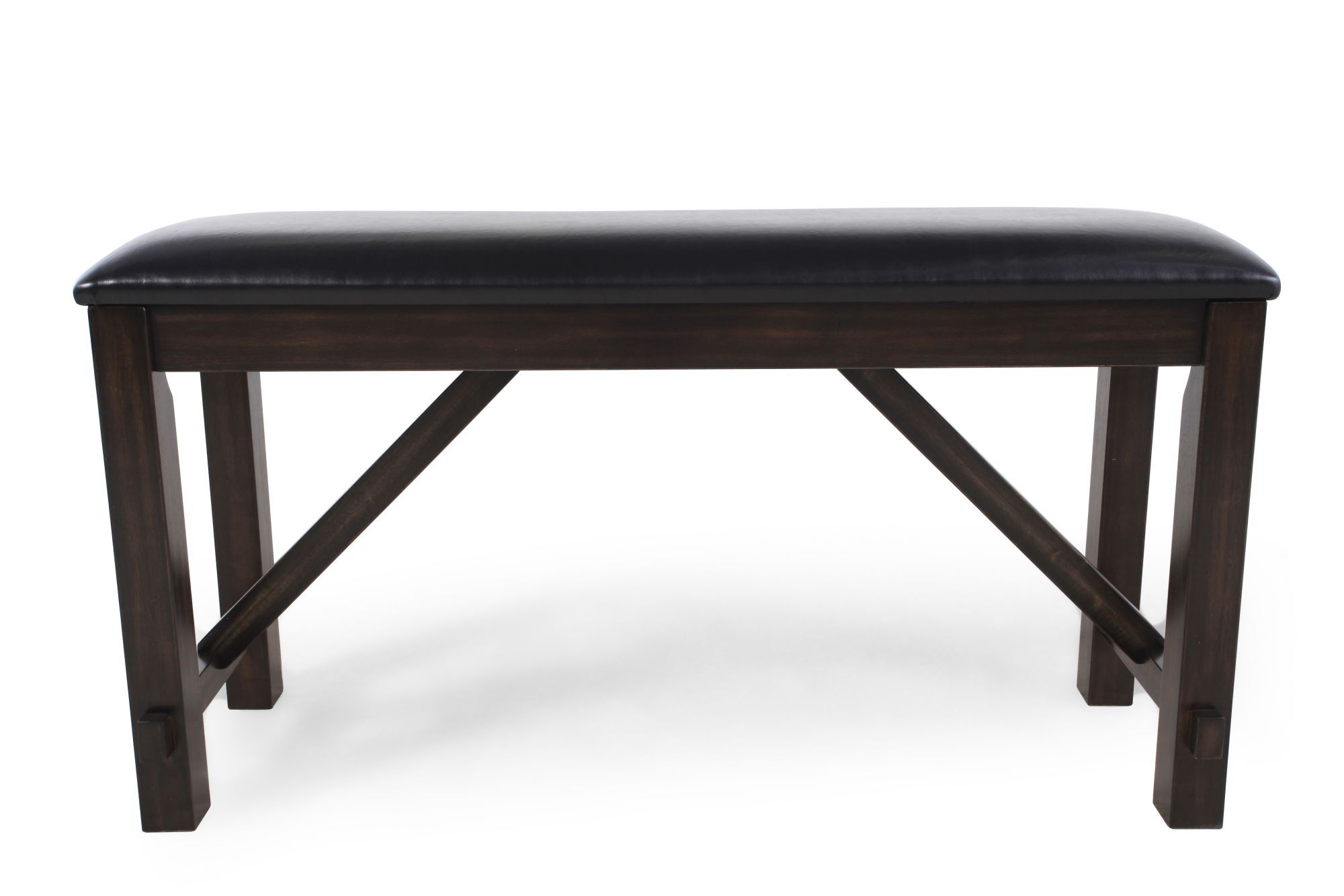Images 48u0026quot; Traditional Bench In Dark Brown 48u0026quot; Traditional Bench  In Dark Brown
