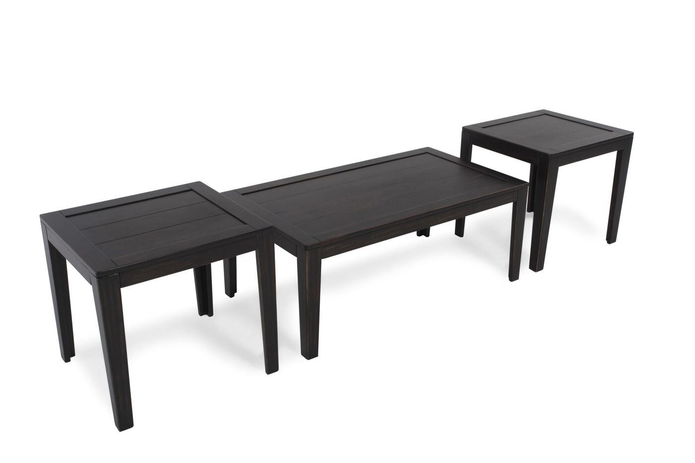 Three Piece Contemporary Occasional Table Set in Dark  : ASH T22704713 1 from www.mathisbrothers.com size 1400 x 933 jpeg 44kB