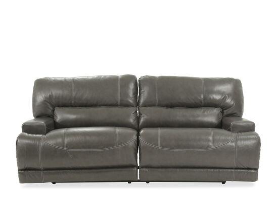"Contemporary 79"" Power Reclining Sofa in Gray"
