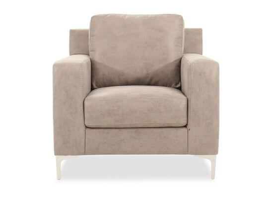 """Modern 38"""" Chair in Steel"""