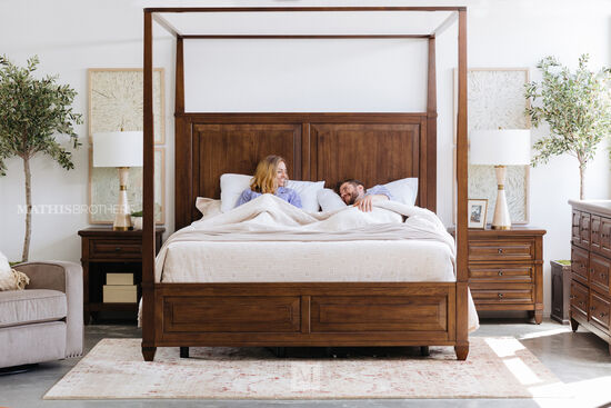 """29"""" One-Drawer Transitional Nightstand in Sienna"""