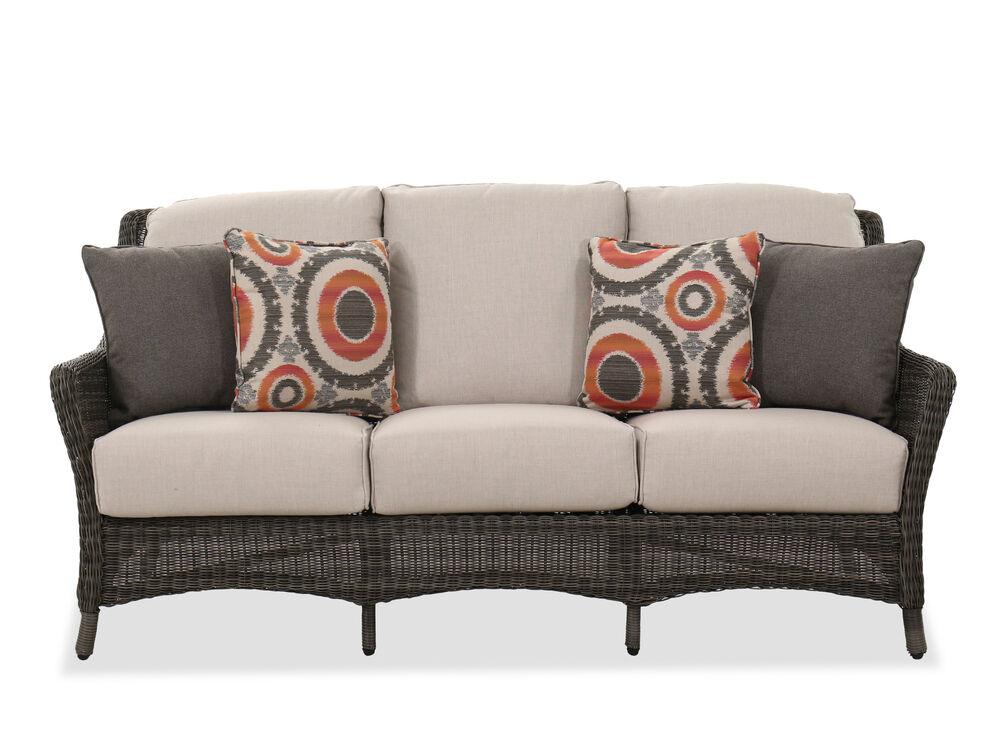 Contemporary Sofa in Dark Gray