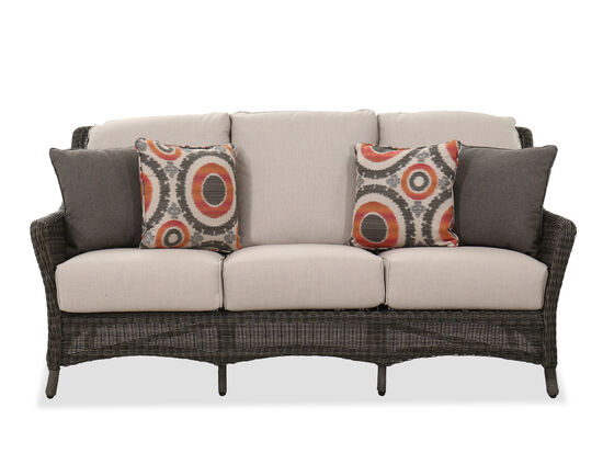 Contemporary Sofa in Dark Gray