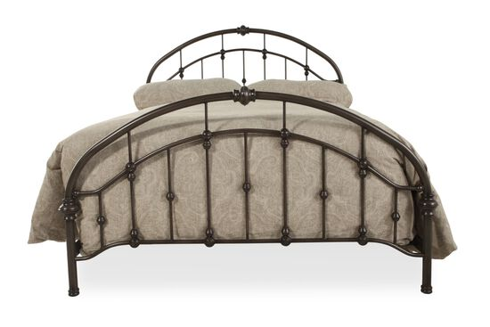 Ashley Bronze Queen Metal Bed