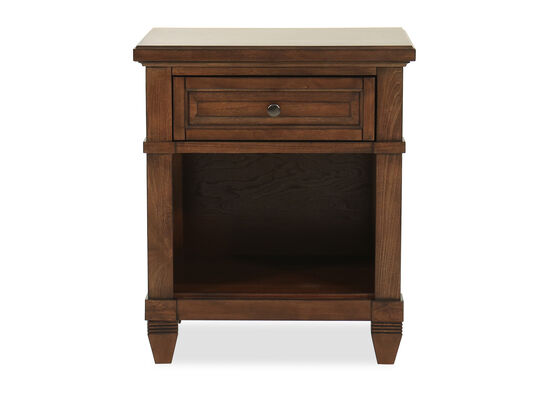 "29"" One-Drawer Transitional Nightstand in Sienna"