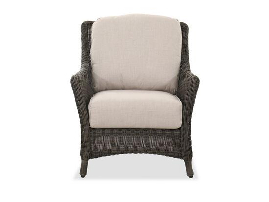 Contemporary Patio Chair in Dark Gray