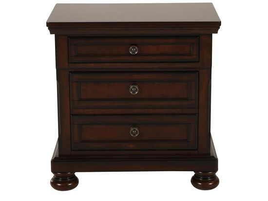 "40"" Traditional Nightstand in Dark Cherry"