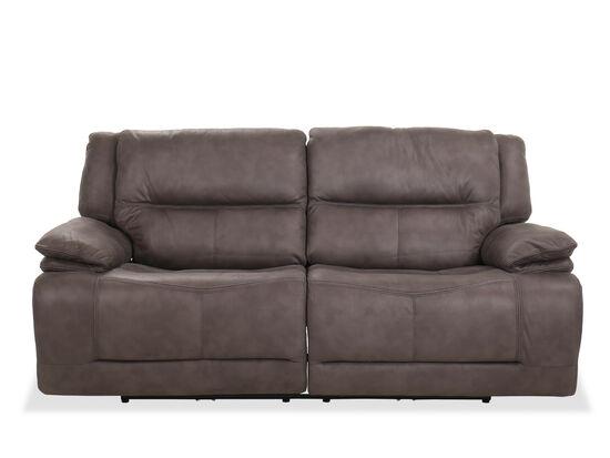 Contemporary Power Reclining Sofa in Gray