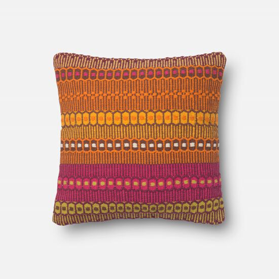 """Contemporary 18""""x18"""" Cover w/down pillow in Melbourne"""