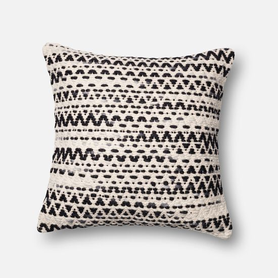 """22""""x22"""" Pillow Cover Only in Grey/Multi"""