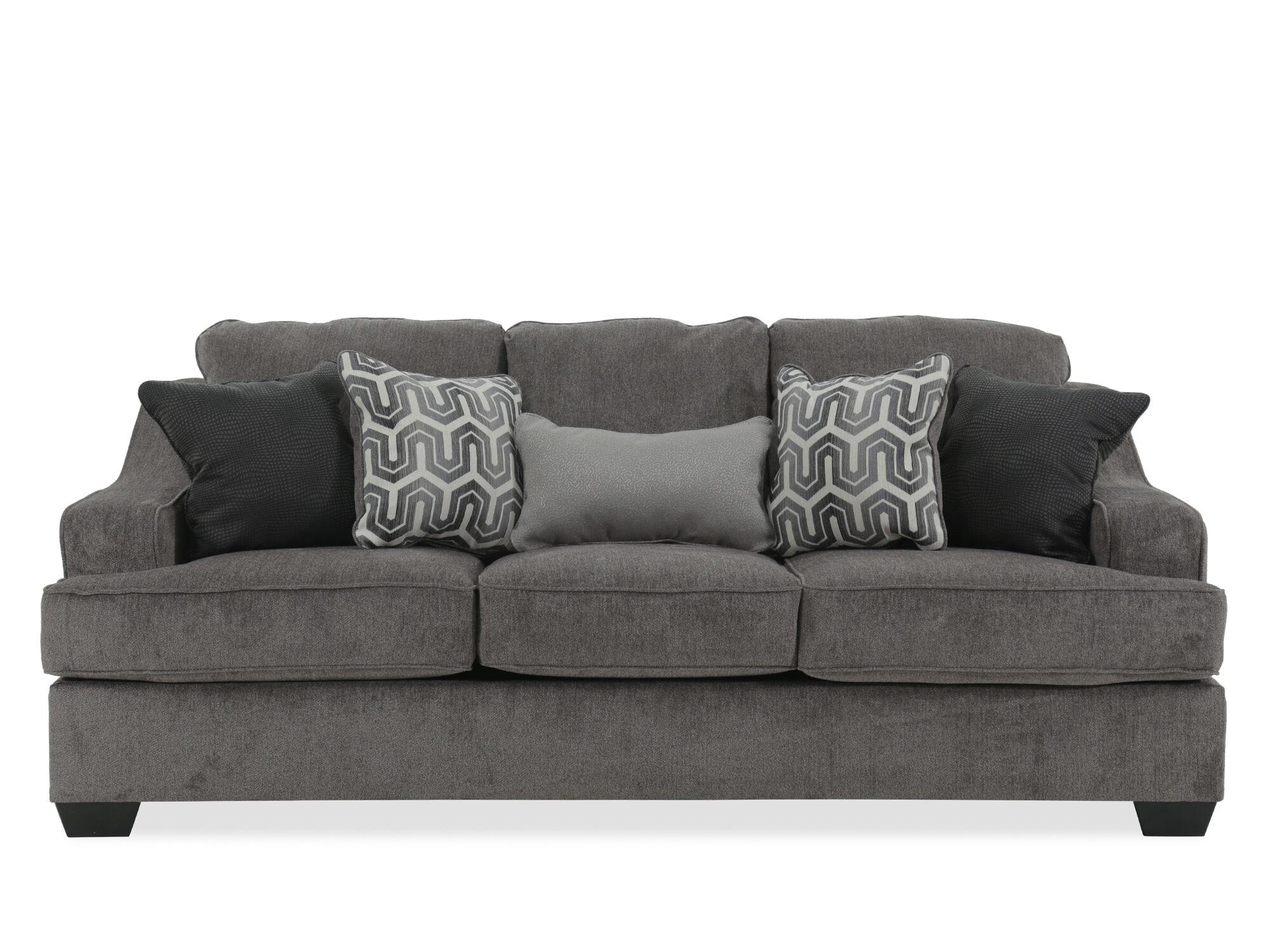 Merveilleux Contemporary 89u0026quot; Sofa In ...