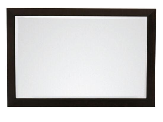 Casual Rectangular Mirror in Black