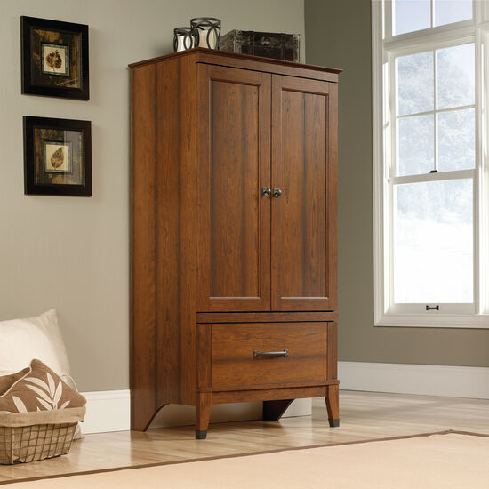 "66"" Traditional Armoire in Washington Cherry"