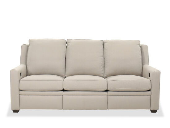 Transitional Upholstered Sofa in Gray
