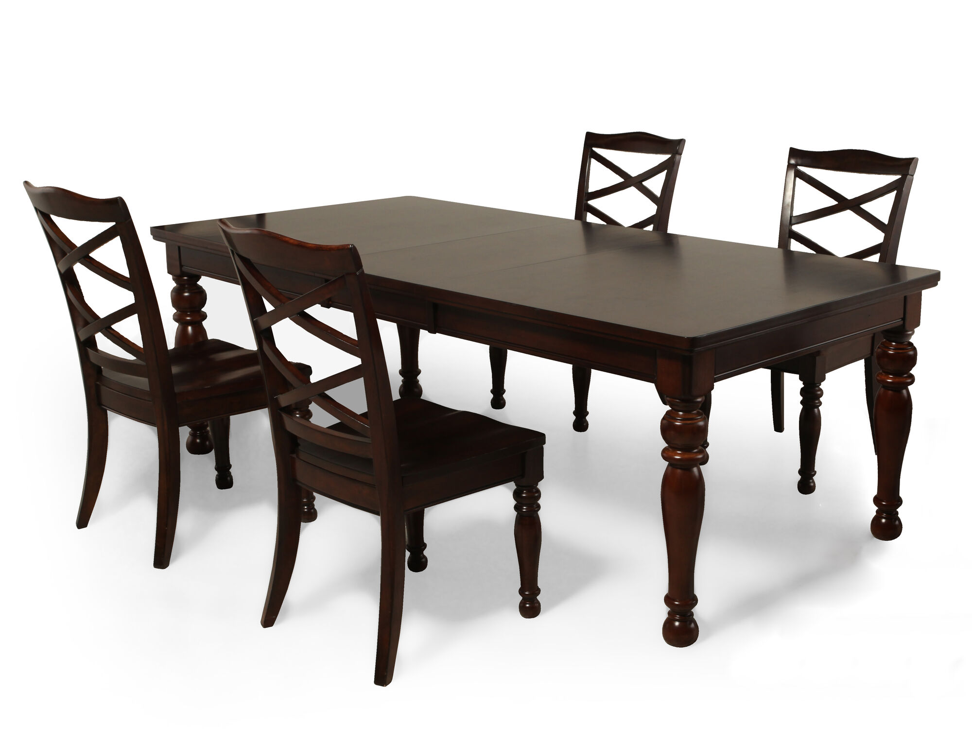 Five Piece Traditional 70 To 88 Dining Set In