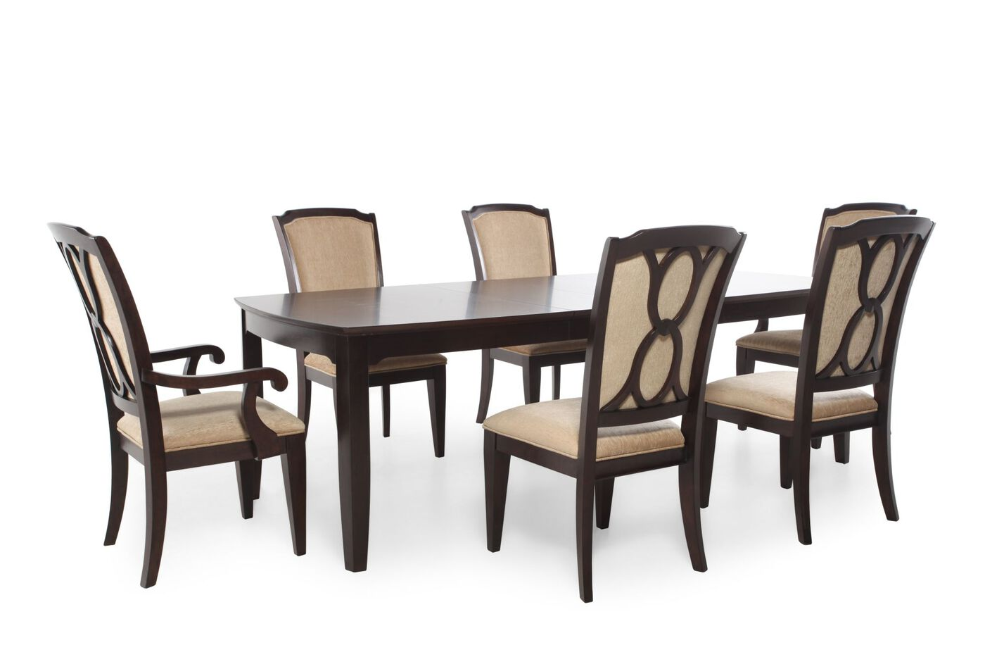 mathis brothers dining room tables and chairs. legacy sophia seven-piece dining set mathis brothers room tables and chairs s