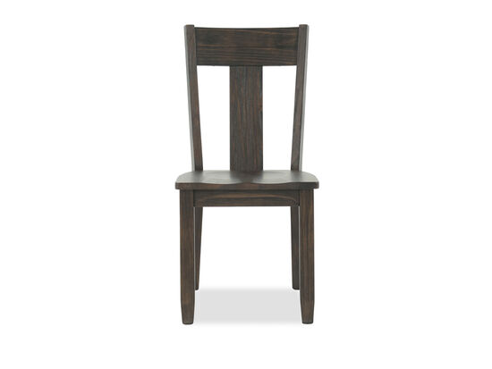 "Contemporary 37"" Side Chair in Gray"