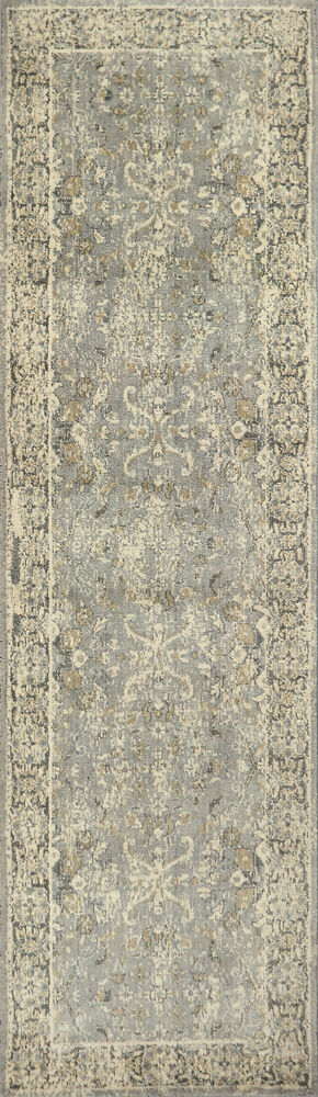 Transitional Power-Loomed 8 x 10 Rectangle Rug in Gray
