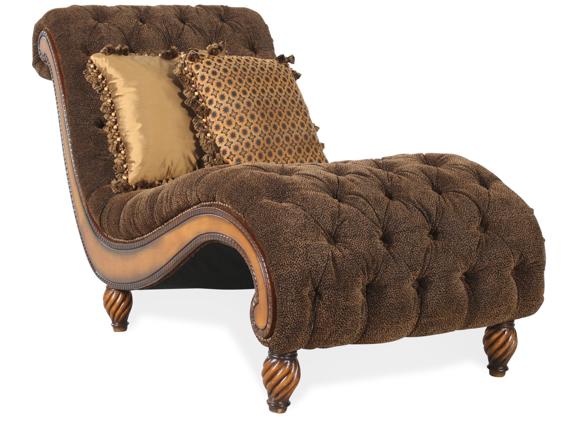 Rachlin Classics Dinah Single Chaise  sc 1 st  Mathis Brothers : dinah chaise - Sectionals, Sofas & Couches