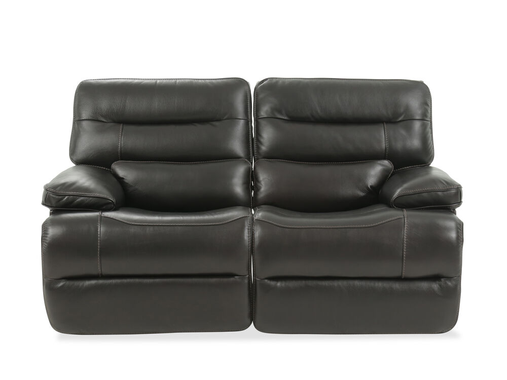 Power Reclining Traditional 68 Quot Loveseat With Power