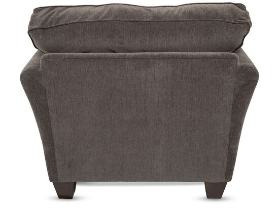 """Contemporary 41"""" Chair in Brown"""