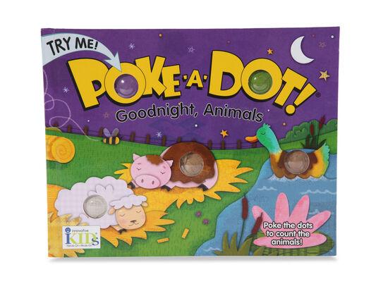 Poke-A-Dot Good Night Animals Book