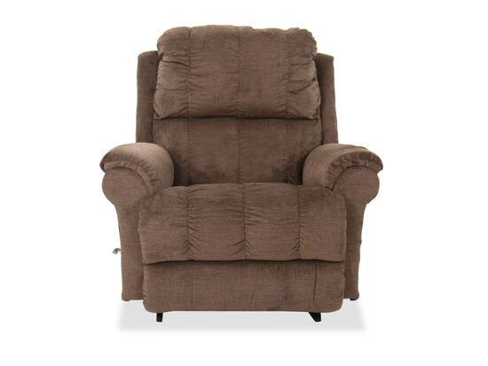 "Casual 45"" Rocking Recliner in Brown"
