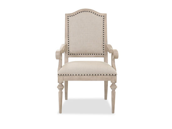 "25"" Casual Upholstered Arm Chair in Fawn"