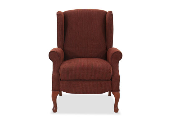 """Contemporary High-Leg 30"""" Recliner in Tawny"""