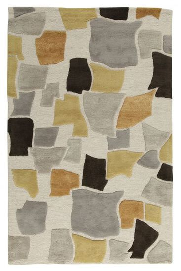 "Lb Rugs|Tqr-166|Hand Tufted Wool/viscose 3'-6"" X 5'-6""