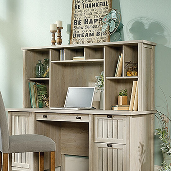 """59"""" Casual Cubbyhole Hutch in Chalked Chestnut"""