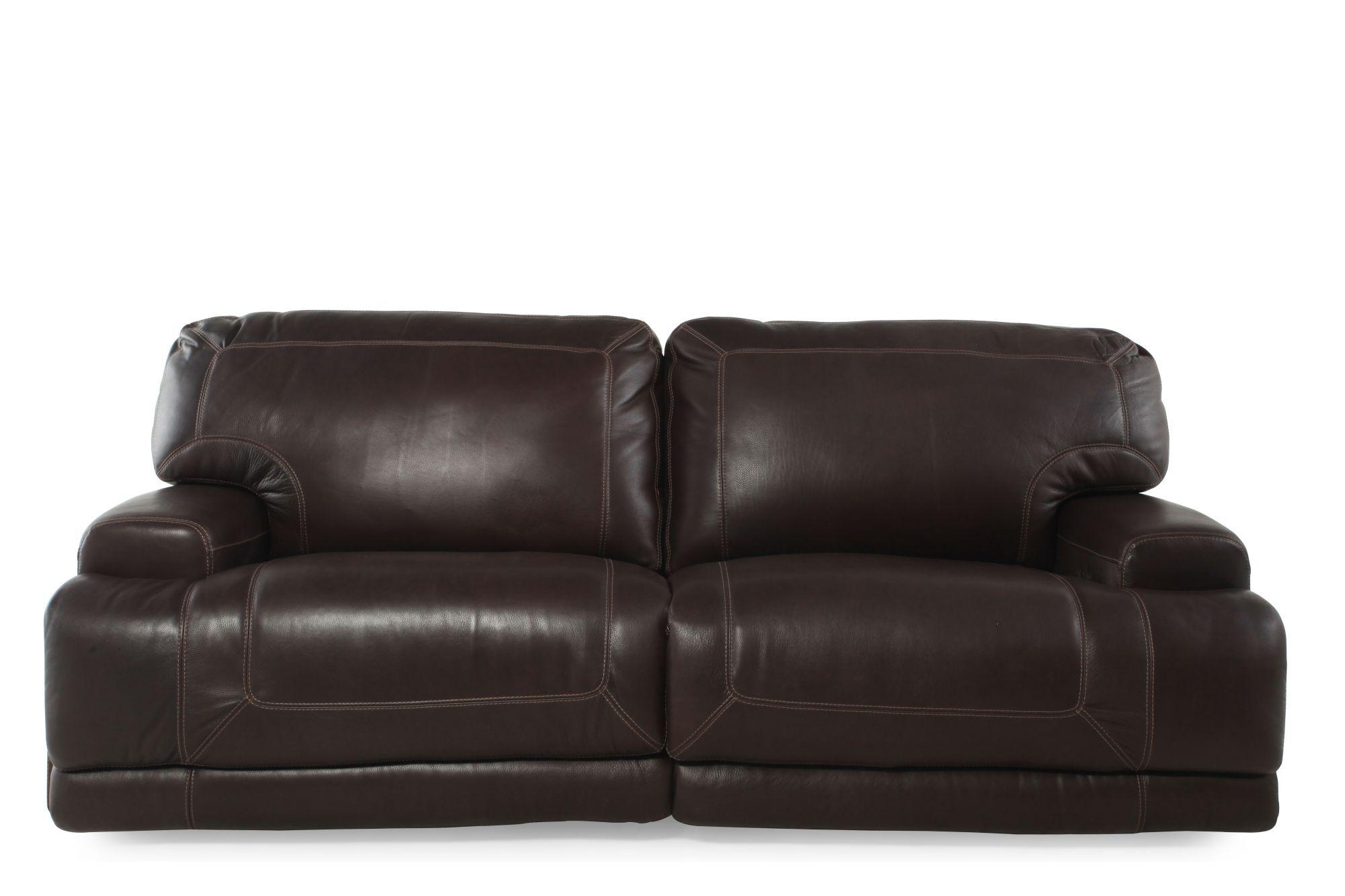 Simon Li Crown Light Walnut Power Reclining Sofa ...  sc 1 st  Mathis Brothers & Simon Li Furniture | Mathis Brothers Furniture islam-shia.org