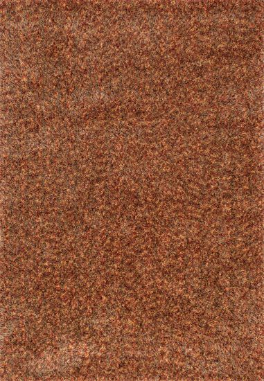 "Contemporary 7'-6""x9'-6"" Rug in Rust/Multi"