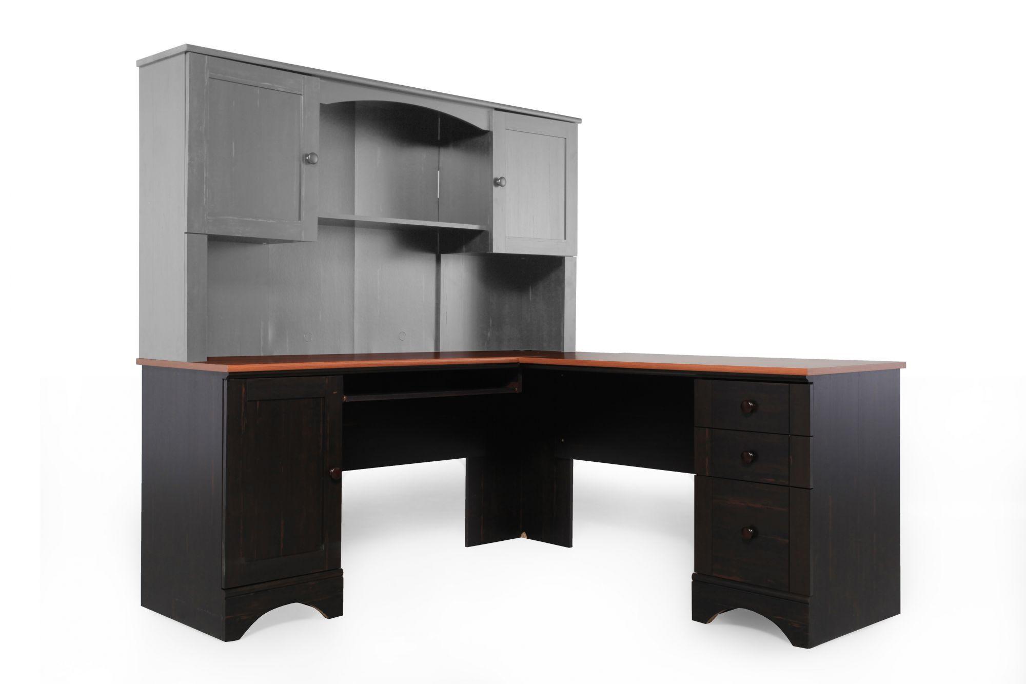 Espresso Corner Desk from Sauder Mathis Brothers