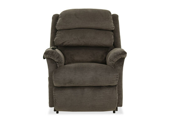 "Casual 35"" Power Lift Recliner in Gray"
