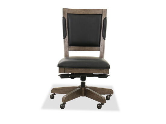 Gas Lift Seat Office Chair in Graystone