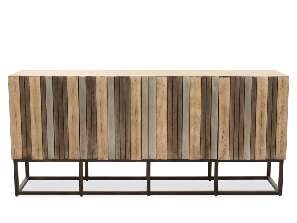 Transitional Four-Door Credenza