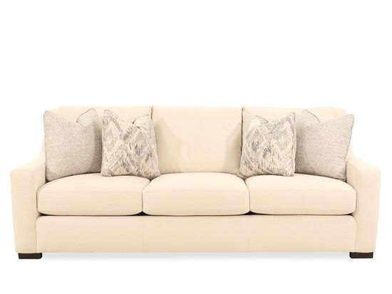 93'' Three-Seater Sofa in Beige