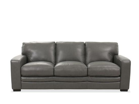 "Casual 94"" Sofa in Gray"