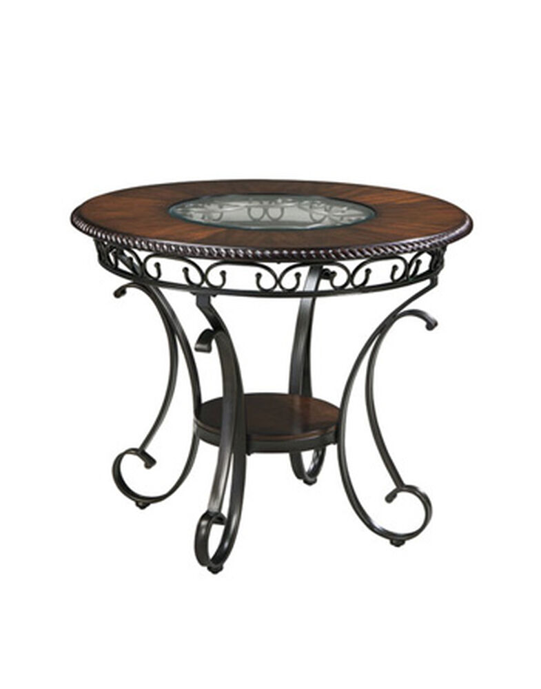 """Traditional 44"""" Round Counter Table in Cherry"""