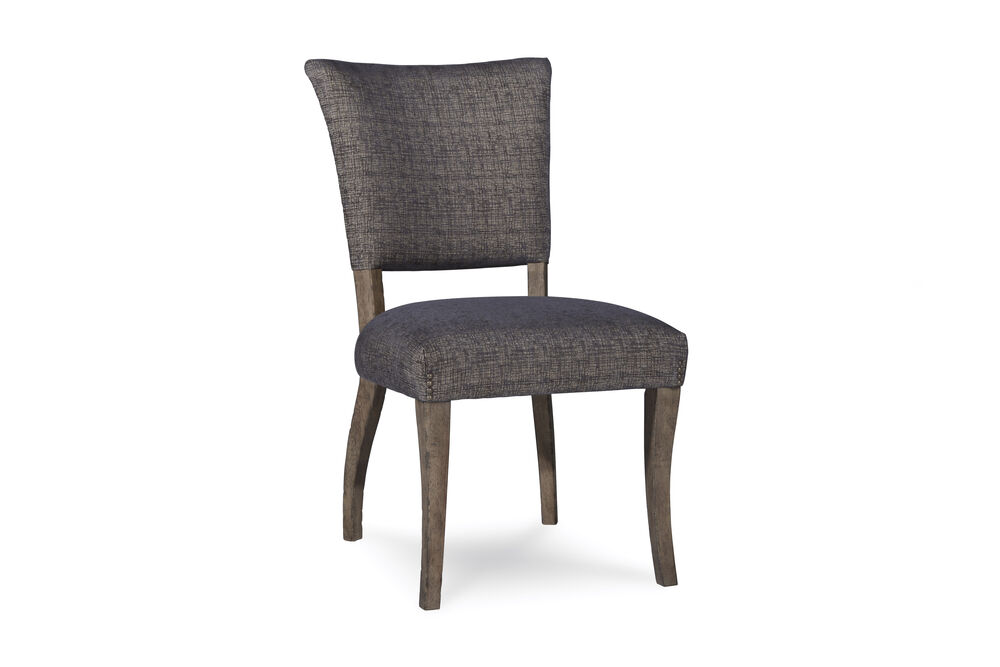 Mid-Century Modern 38'' Side Chair in Gray